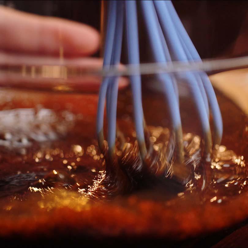 cách pha chế cafe bọt biển hàn quốc