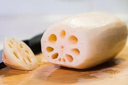 Cách làm NGÓ SEN nhồi gạo nếp mật ong