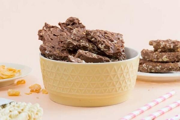 cách làm món bánh chocolate mì gói
