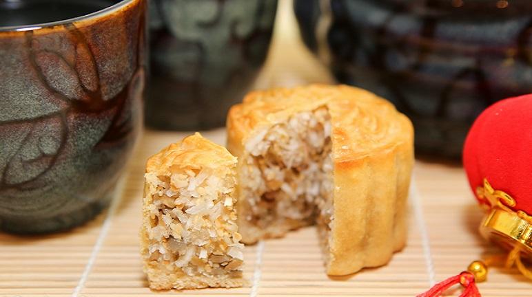 Cách làm bánh trung thu nhân dừa