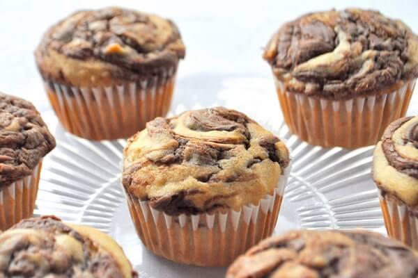 cách làm bánh Muffin chuối Mutella ngon tại nhà