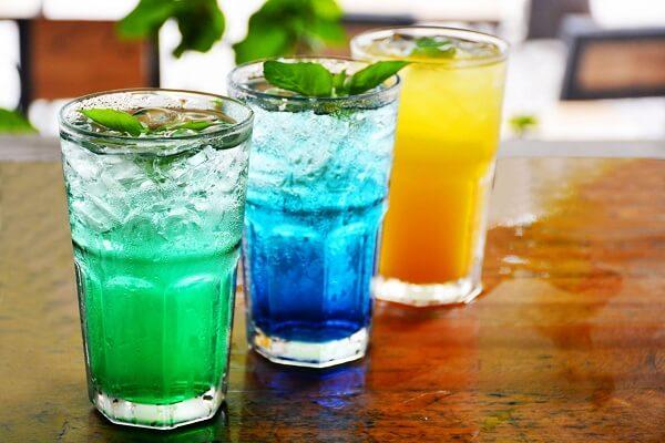 Công thức pha chế nước uống Mojito Blue ngon