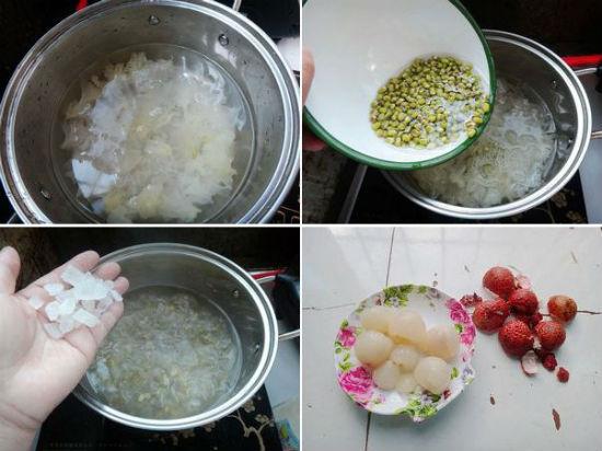 Cách nấu chè vãi thiều ngon