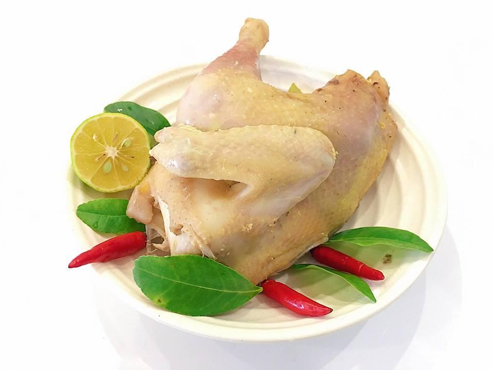 Cách làm món gà hấp lá chanh ngon