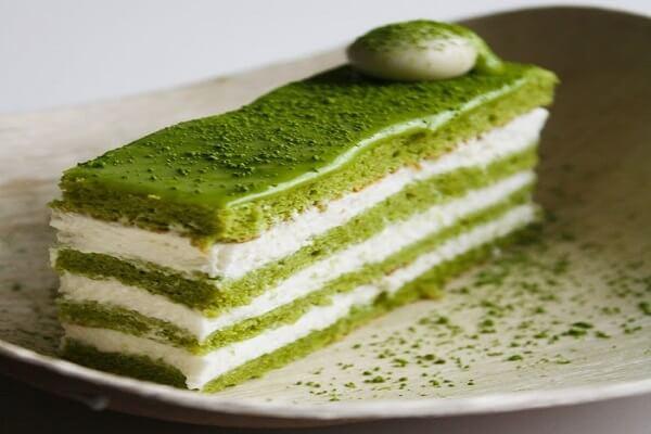 cách làm bánh Matcha Delight thanh ngọt