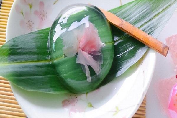 cách làm bánh mochi hình giọt nước hoa anh đào