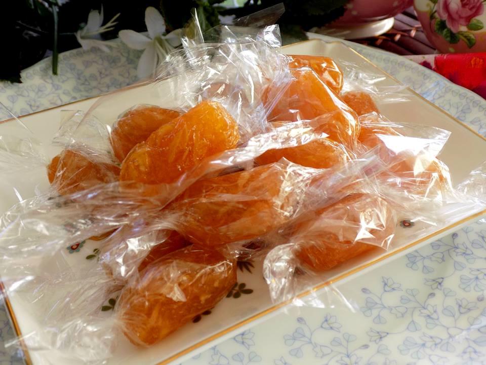 Cách làm món kẹo gừng chữa cảm cúm