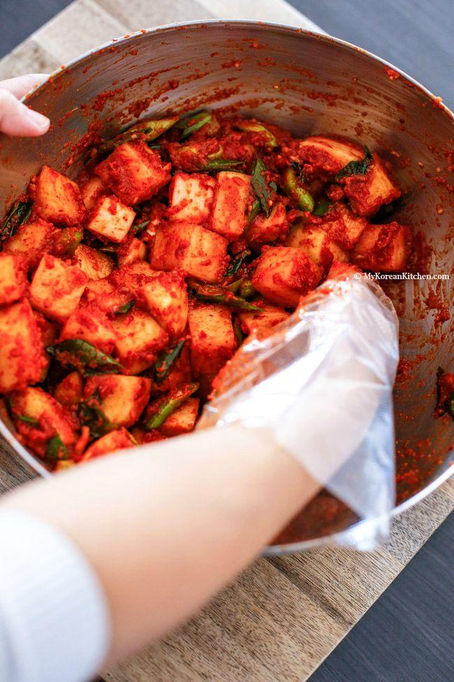 Cách làm kim chi củ cải chua