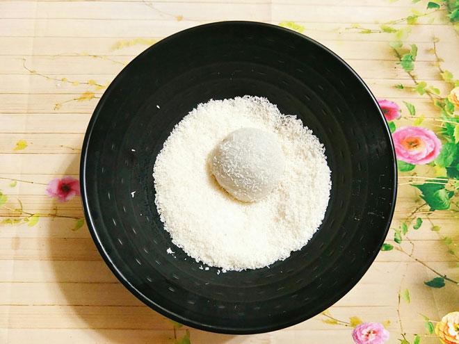 cách làm bánh mochi nhân đậu đỏ ngon