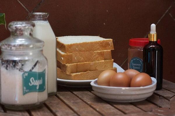 cách làm bánh mì custard chiên