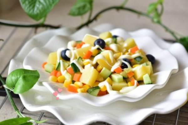 cách làm món salad rau củ