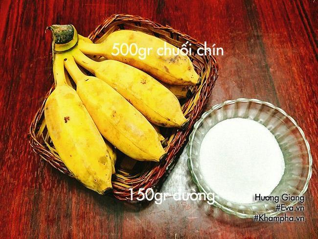 Cách làm mứt chuối deo thơm ngon