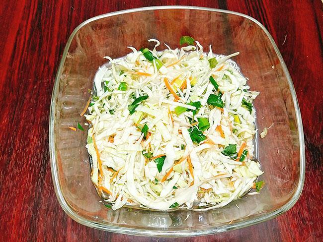 cách làm dưa bắp cải muối chua giòn ngon