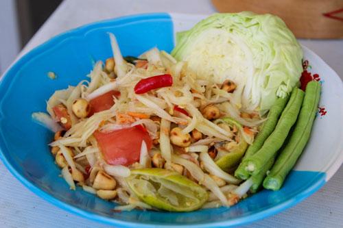 Salad đu đủ Thái