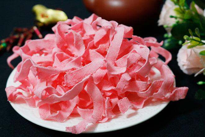 Cách làm mứt dừa hương dâu