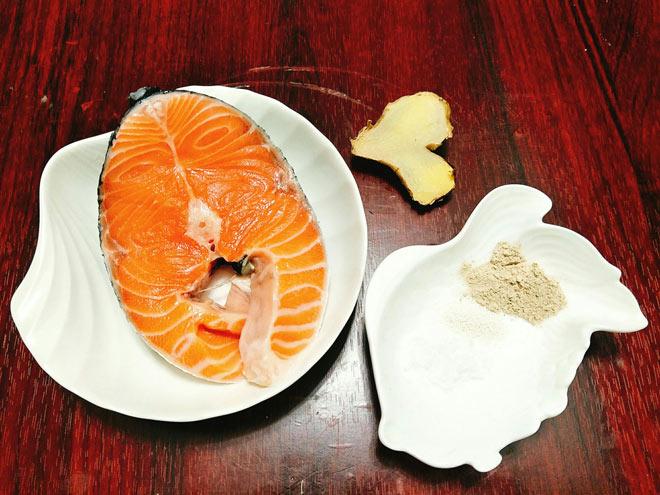 cách làm món ruốc cá hồi ngon đơn giản
