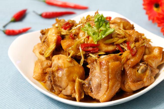 cách làm gà xào sả ớt thơm ngon
